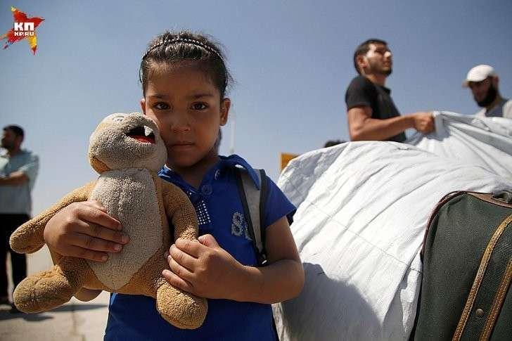 Около 10 миллионов сирийцев были вынуждены покинуть свои дома Фото: REUTERS