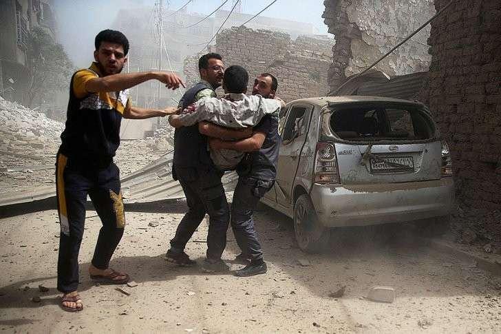 Для завершения сирийской войны необходим честный отчёт США об их роли в сирийском конфликте Фото: REUTERS