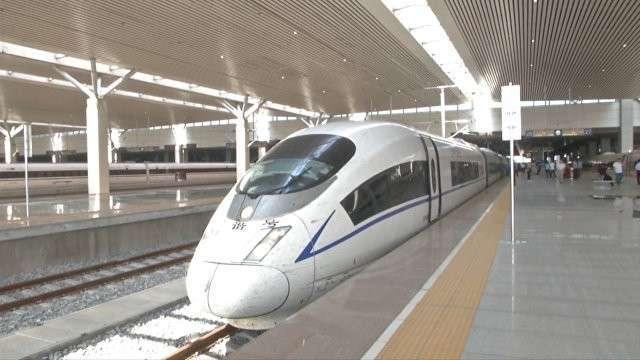 Самый быстрый серийный пассажирский поезд в мире отправился в первый рейс в Китае