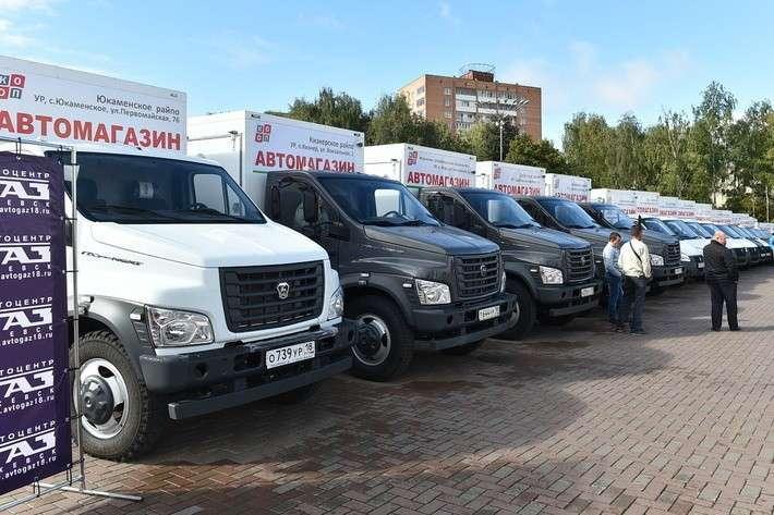 11. «Удмуртпотребсоюз» получил 20 автомагазинов для доставки товаров в отдалённые пункты Сделано у нас, политика, факты