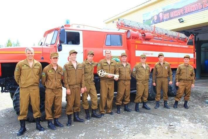 28. В Хабаровском крае открыли пожарную часть Сделано у нас, политика, факты