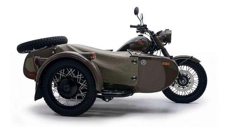 Для пиндосов круче уральских мотоциклов тоже только горы!