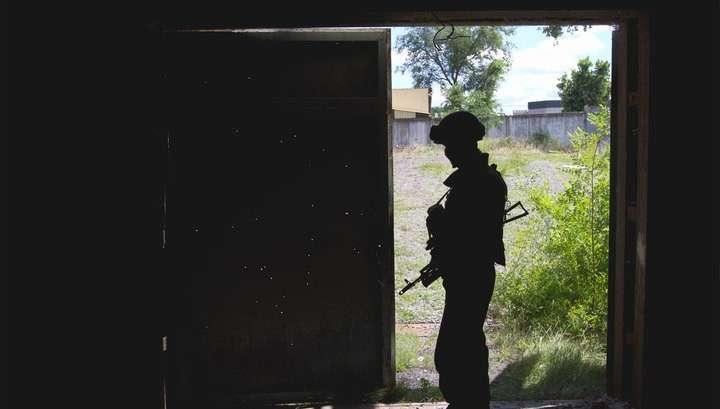 Украинские военные попытались прорвать линию соприкосновения с ДНР