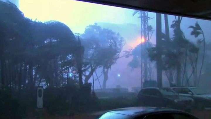 На побережье Китая обрушился супертайфун «Меранти»