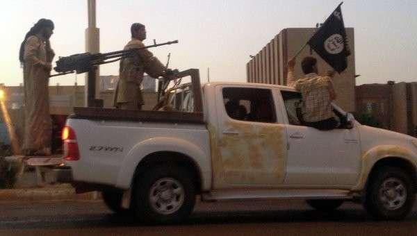 Боевики-исламисты в Ираке, архивное фото