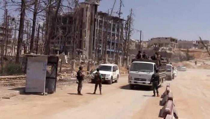 Минобороны России начало онлайн-трансляцию ситуации в Алеппо