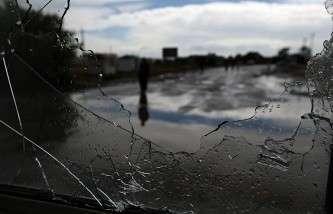 На Украине вблизи российского пункта пропуска «Донецк» идёт бой