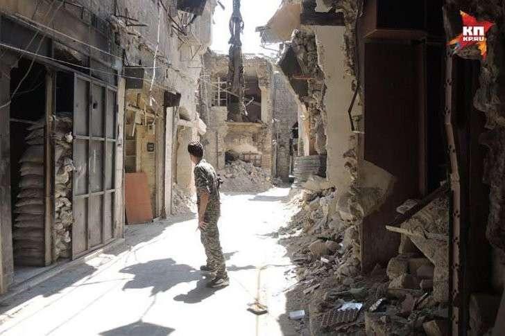 Разрушенные улочки Алеппо Фото: Дарья АСЛАМОВА