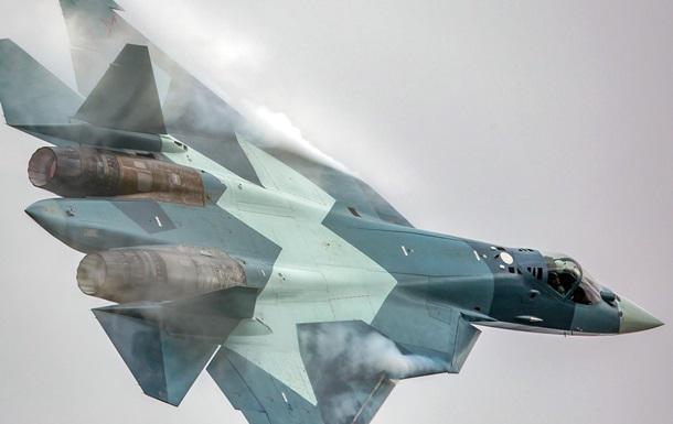 Россия испытала пушку новейшего истребителя Т-50