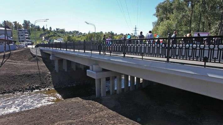 21. Открылся мост через реку Барнаулка на Алтае Сделано у нас, политика, факты
