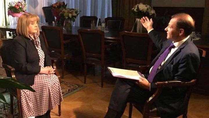 Интервью Вестям главы Центризбиркома Эллы Памфиловой