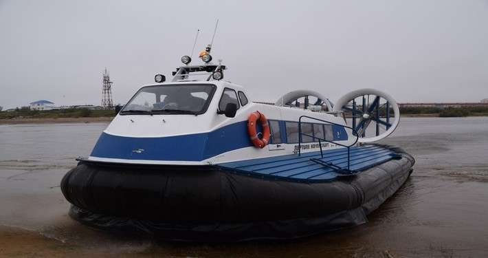 11. В Нарьян-Мар доставлено новое пассажирское судно на воздушной подушке Сделано у нас, политика, факты