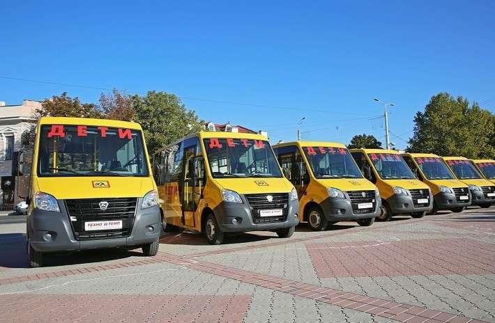 3. Руководство Крыма передало муниципалитетам 107 школьных автобусов Сделано у нас, политика, факты