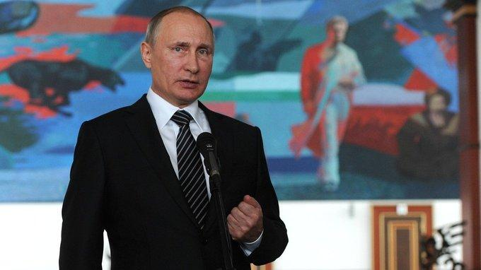 Владимир Путин ответил на вопросы российских журналистов в Бишкеке