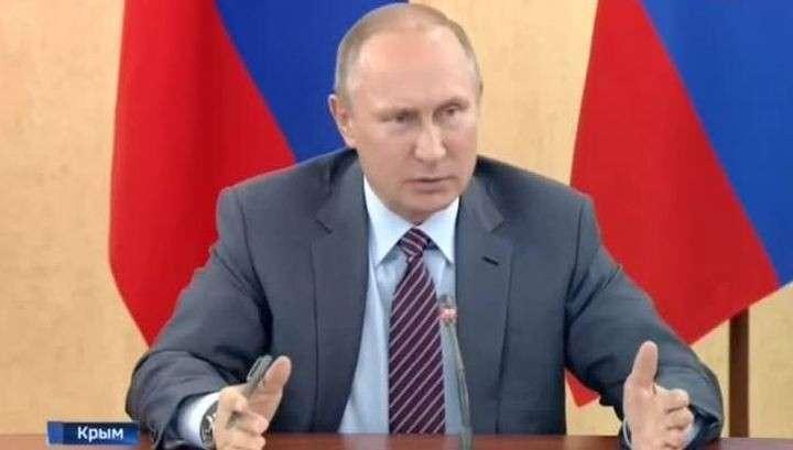 Владимир Путин объяснил в Крыму, что нужно делать с выделенными деньгами