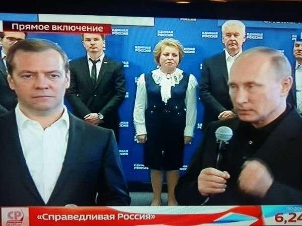 Путин назвал результаты выборов авансом состороны граждан России