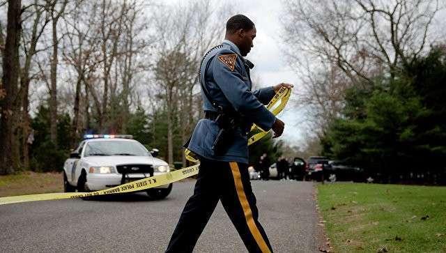 Сотрудник полиции штата Нью-Джерси
