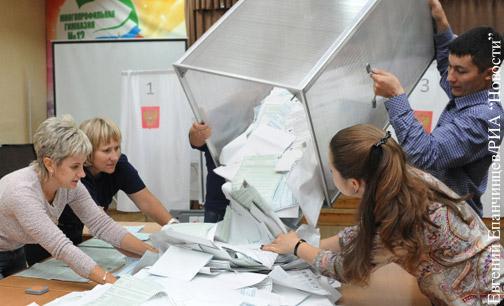 ЦИК обработал 90% протоколов на выборах в Госдуму
