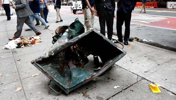 Полиция пиндосии догадалась, что между взрывами в Нью-Йорке и Нью-Джерси есть связь!