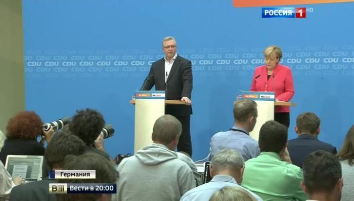 В Берлине на выборах соратники Меркель получили худший результат