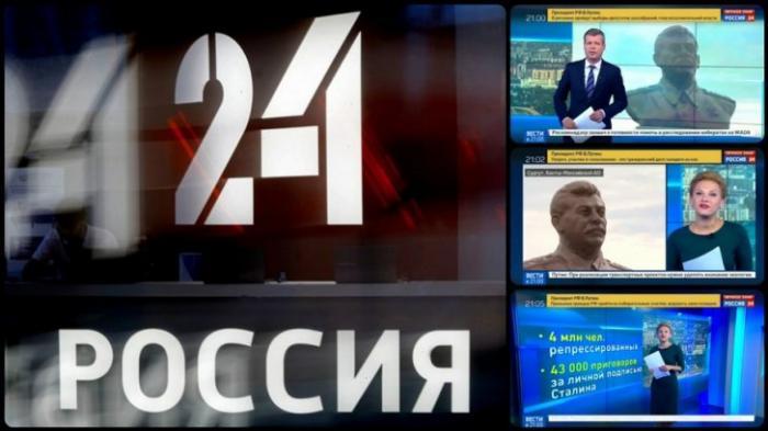 Откровенная антисталинская агитация на федеральном канале Россия 24