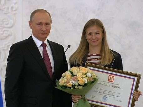 Владимир Путин наградил отстранённых от Игр в Рио паралимпийцев