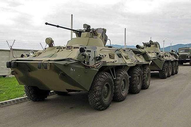 Миротворцы ЦВО получили новые бронетранспортёры