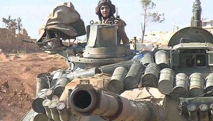 Сирийские военные при поддержке ВКС России перешли в наступление на англо-американских наёмников
