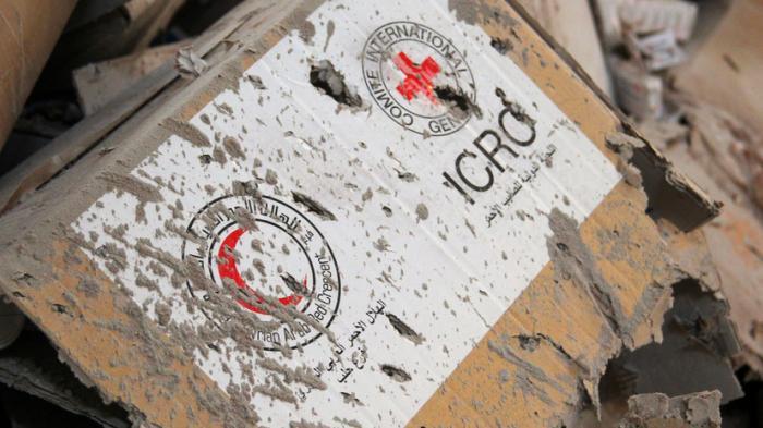 Красный Крест: работа гуманитарных организаций в Сирии стала самой опасной в мире