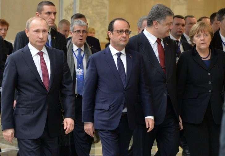 Европа разрывает Минские соглашения с киевской Хунтой