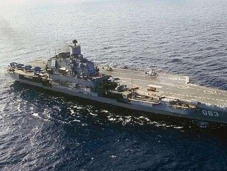 Авианосец «Адмирал Кузнецов» подойдет к берегам Сирии - Шойгу