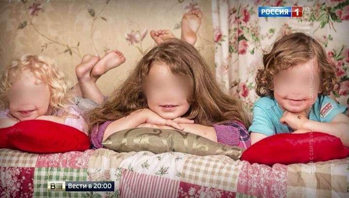 В Финляндии дебилы из службы опеки отобрали троих детей у Виктории Медведевой