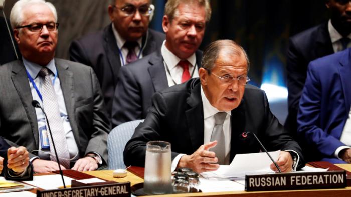 Сергей Лавров в ООН призвал к расследованию атаки на конвой в Сирии