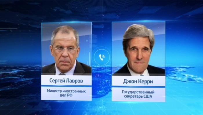 Сергей Лавров и Джон Керри продолжили обсуждение сирийского урегулирования