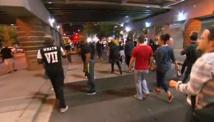 Беспорядки в Шарлотте (Северная Каролина): в городе введён режим ЧП