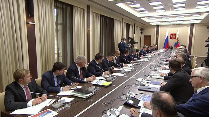 Заседание Совета постратегическому развитию иприоритетным проектам