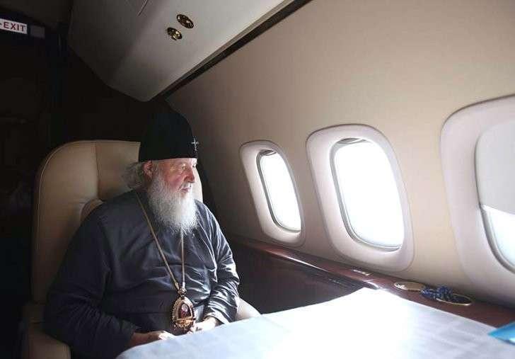 Главпоп всея Москвы Кирилл раскритиковал свою братву за открытое стремление к роскоши и комфорту