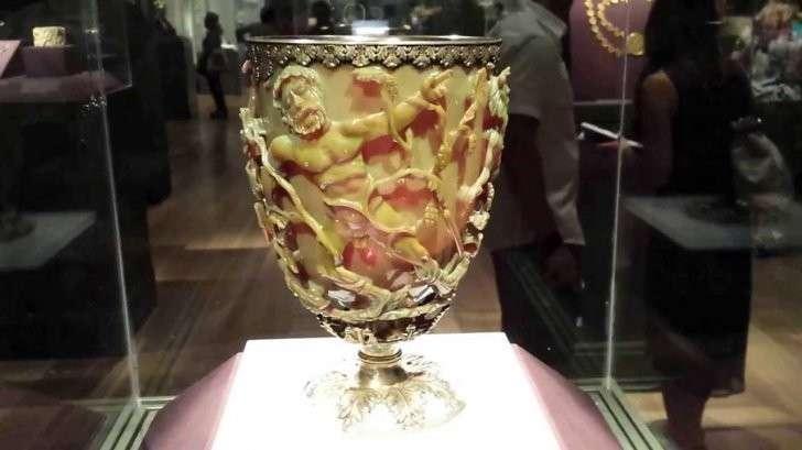 Тайна кубка Ликурга или настоящие древние нанотехнологии
