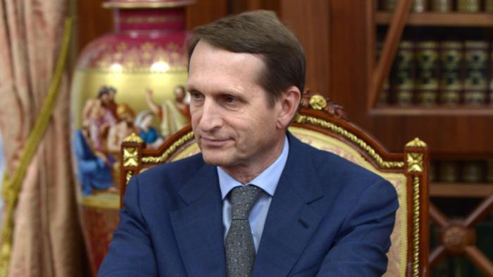 Сергей Нарышкин приступит к исполнению обязанностей главы СВР в октябре