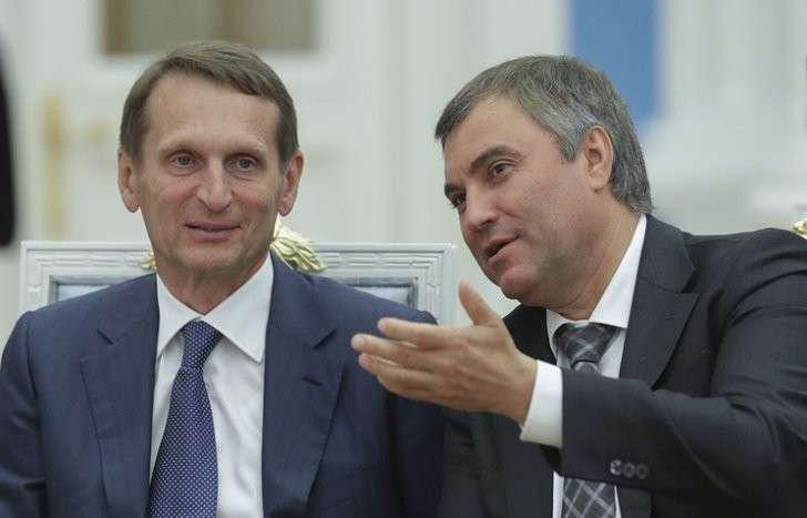 Сергей Нарышкин и Вячеслав Володин