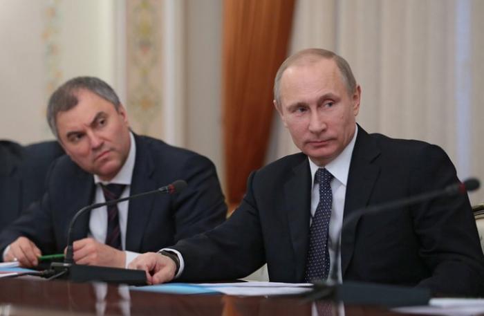 Почему Владимир Путин хочет видеть Вячеслава Володина спикером Госдумы
