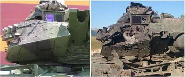 В Сирии израильские танки М60Т горят как свечи