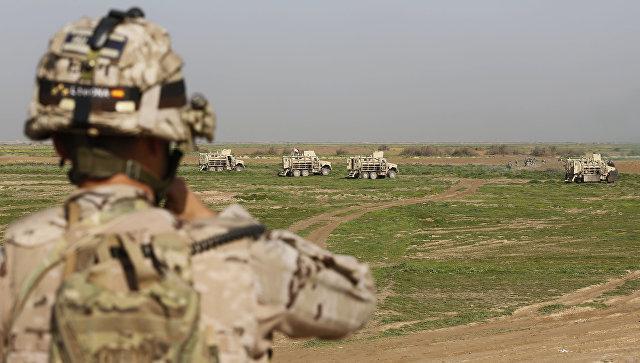 Бандиты из США используют в Ираке снаряды с белым фосфором