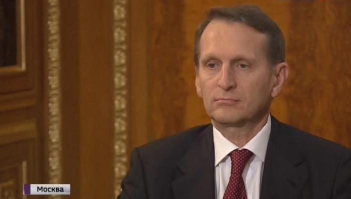 Сергей Нарышкин дал первое интервью в должности главы СВР