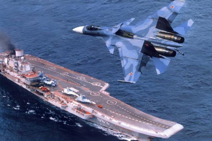 «Адмирал Кузнецов» расставит в Сирии все точки над i