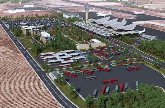 Как будет выглядеть гражданский аэропорт «Бельбек» в Севастополе