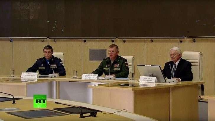 Брифинг Минобороны и представителей ВПК о первичных радиолокационных данных по Боингу MH17