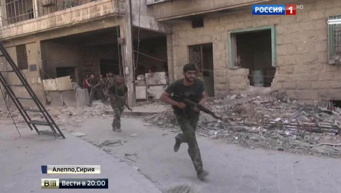 Госдеп США боится наступления сирийской армии на своих наёмников в Алеппо