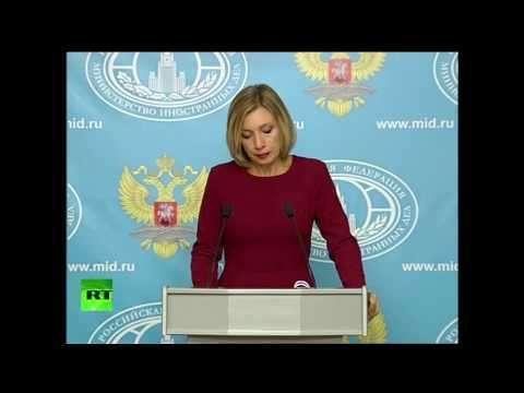 Брифинг Марии Захаровой по актуальным вопросам внешней политики, 29.09.2016