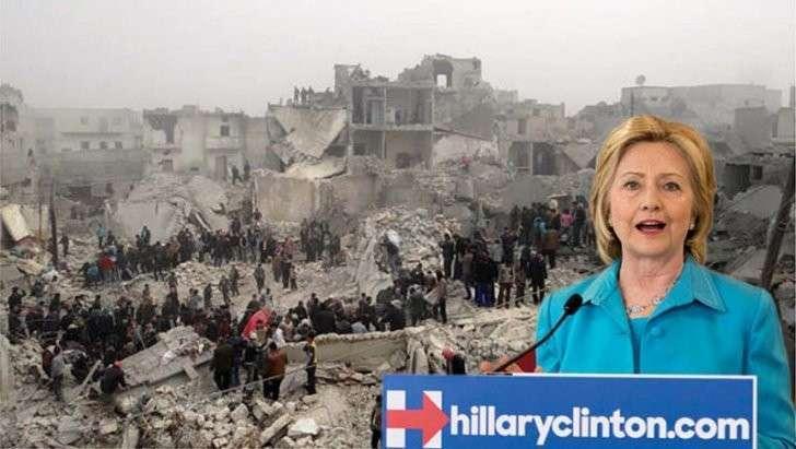 Почта Клинтон: «Мы должны уничтожить Сирию ради Израиля»